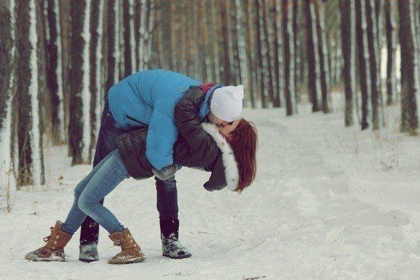 """Картинки по запросу """"влюбленные зимой"""""""""""