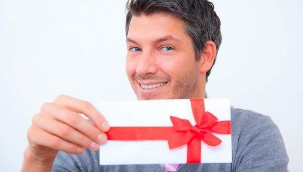 Как заставить мужчину дарить подарки