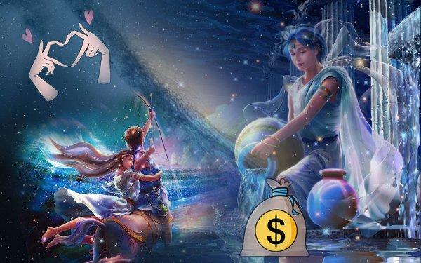 В конце марта Стрелец «купается» в любви, а Водолей в деньгах